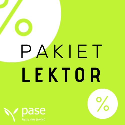Pakiet Lektor