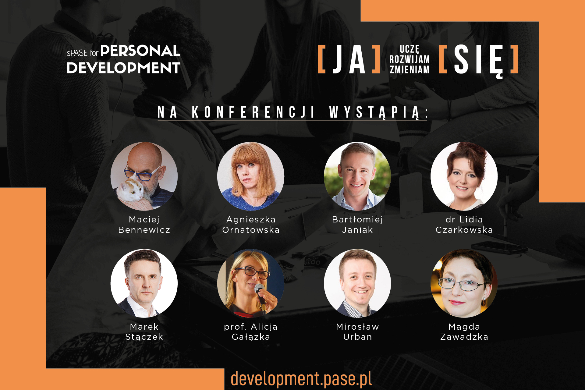 Prelegenci sPASE for Personal Development 2020