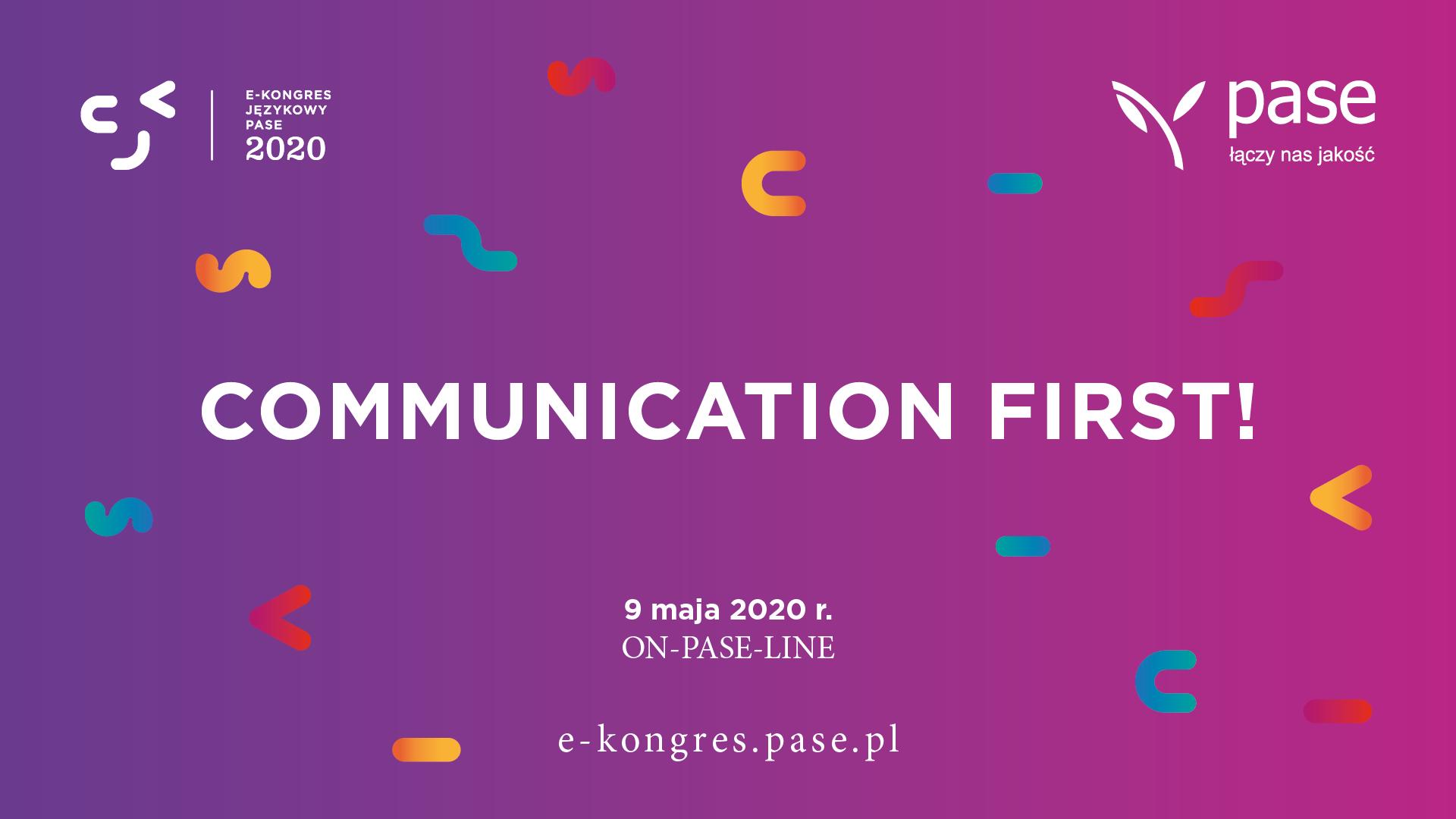 e-Kongres Językowy PASE 2020