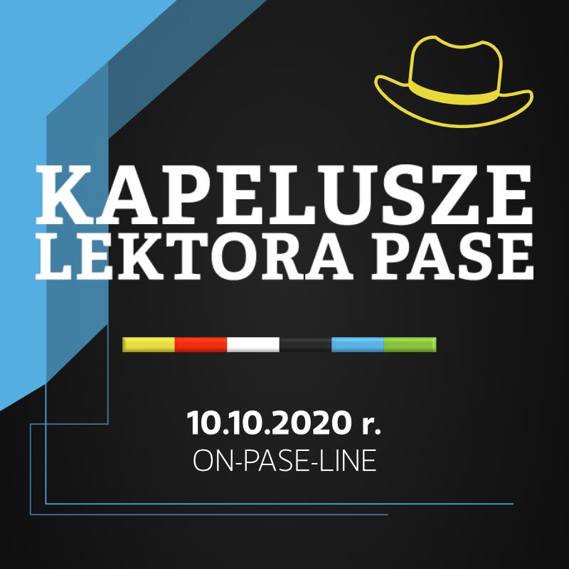 Kapelusze Lektora PASE 2020 - Nauczyciel języka obcego wczoraj, dziś i jutro