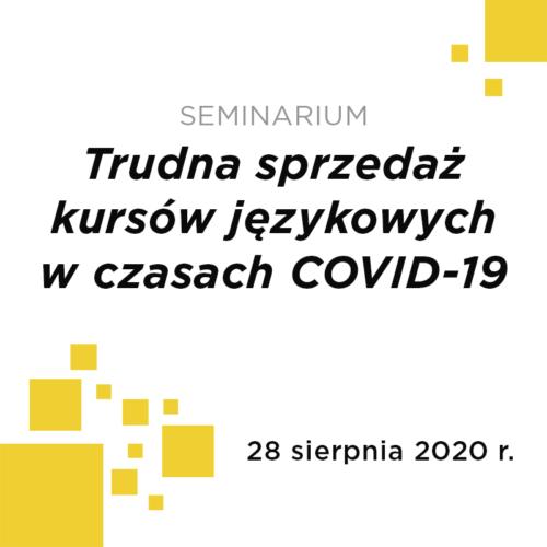 sPASE for Customer Service - Trudna sprzedaż kursów językowych w czasach COVID-19
