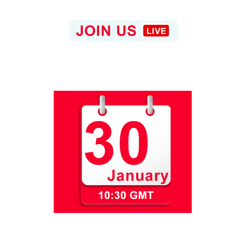 Join us LIVE on 30 January